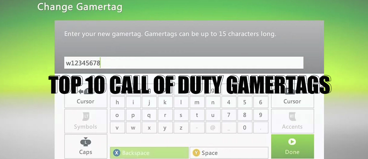 Top 10 Call of Duty Gamer Tags | ESPORTS SOURCE