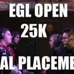 EGL Open Final Placements