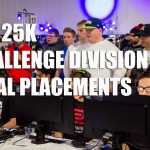 ESL Call of Duty World League 25k Challenge Tournament Final Placements