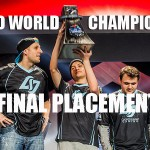 Halo World Championship 2016 Final Placings