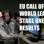 EU Call of Duty Stage 1 Finals Results