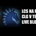 LCS NA Playoffs: CLG v Team Liquid LIVE BLOG