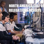 Call of Duty NA Relegations Results
