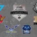 2016 Mid-Season Invitational Teams