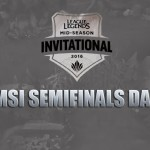 [League of Legends] MSI Semi-Final: Counter Logic Gaming v Flash Wolves