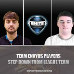 [SMITE] Two Players Leave Team EnVyUs