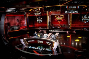Casters on Day One of the Prelims. Courtesy ELEAGUE
