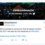 Twitter Introduces Esports Live Streams