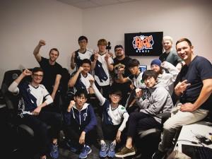 Team Liquid celebrates their return to NA LCS.