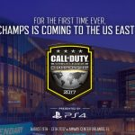 Call of Duty Champs Changes Coasts for 2017